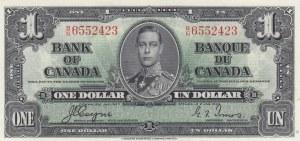 Canada, 1 Dollar, 1937,UNC (-), p58e