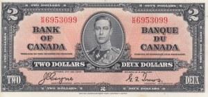 Canada, 2 Dollars, 1937,UNC, p59c