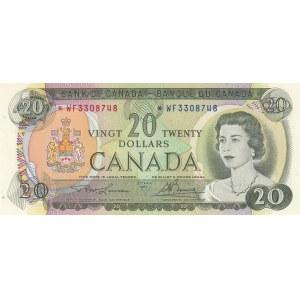 Canada, 20 dollars, 1969, AUNC, p89b, REPLACEMENT