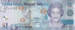 Cayman Islands, 1 Dollar, 2011, UNC, p38a