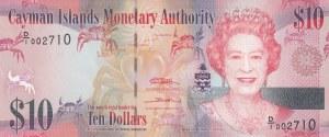 Cayman Islands, 10 Dollar, 2010, UNC, p40
