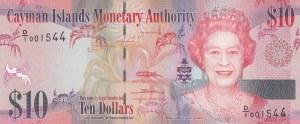 Cayman Islands, 10 Dollars, 2010, UNC, p40
