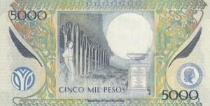 Colombia, 5000 Pesos, 2004, UNC, p452e
