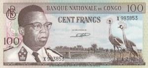 Congo, 100 Francs, 1962, UNC, p6