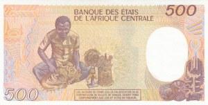 Congo Republic, 500 Francs, 1990, UNC, p8c