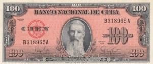 Cuba, 100 Pesos, 1959, UNC, p93