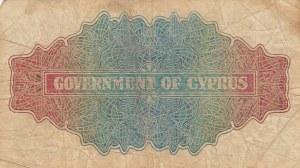 Cyprus, 1 Shilling, 1947, FINE, p20
