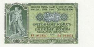 Czechoslavakıa, 50 Korun, 1953, UNC, p85