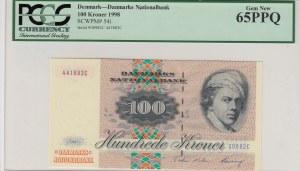 Denmark, 100 Kroner, 1998, UNC, p54i