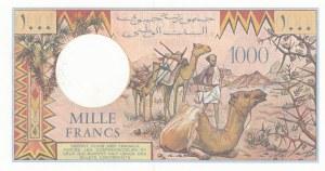 Djibouti, 1000 Francs, 1988, UNC, p37b