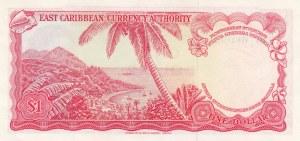 East Caribbean, 1 Dollar, 1974, UNC, p13g
