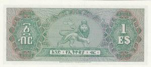 Ethiopia, 1 Ethiopian Dollar, 1961, UNC, p18