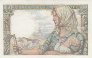 France, 10 Francs, 1942, UNC, p99c