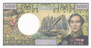 French Pasific Territories, 5000 Francs, 1996, UNC, p3