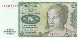Germany, 5 Mark, 1980, UNC, p30