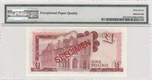 Gibarltar, 1 pound, 1975, UNC, p20, SPECİMEN