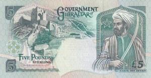 Gibraltar, 5 Pounds, 1995, UNC, p25a
