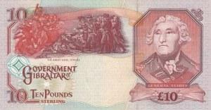 Gibraltar, 10 Pounds, 1995, UNC, p26a