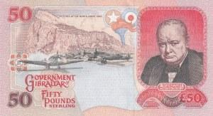 Gibraltar, 50 Pounds, 1995, UNC, p28