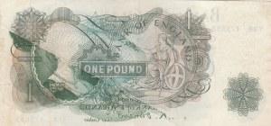 Great Britain, 1 Pound, 1960, XF, p374a, ERROR