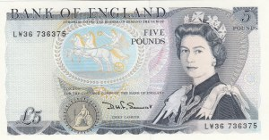 Great Britain, 5 Pounds, 1980, UNC, p378c