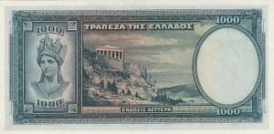 Greece, 1000 Drachmai, 1939, UNC, p110