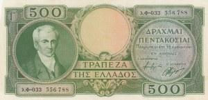 Greece, 500 Drachmai, 1945, UNC, p171