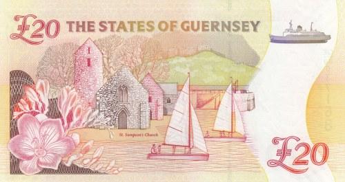Guernsey, 20 Pounds, 2012, UNC, p61