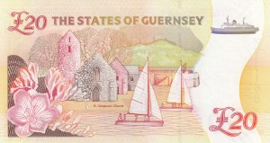 Guernsey, 20 Pounds, 2012, UNC, p61
