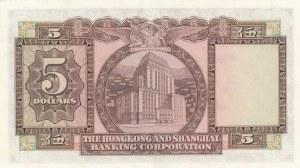 Hong Kong, 5 Dollars, 1973, UNC, p181f