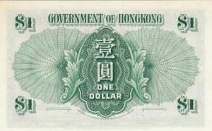 Hong Kong, 1 Dollar, 1956, UNC, p324Ab