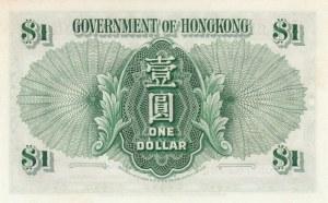 Hong Kong, 1 Dollar, 1959, UNC, p324Ab
