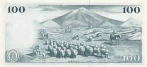 Iceland, 100 Kronur, 1961, UNC, p44