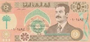 Iraq, 50 Dinars, 1991, UNC, p75