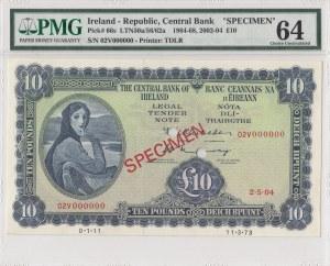 İreland, 10 Pounds, 2004, UNC, p66s, SPECIMEN