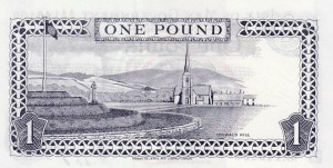 Isle Of Man, 1 Pound, 1972, UNC, p29a