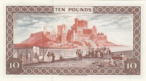 Isle of Man, 10 Pounds, 1972, UNC, p31b