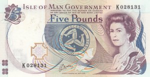 Isle Of Man, 5 Pounds, 1983, UNC, 41b