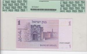 Israel, 1 Sheqel, 1980, UNC, p43a