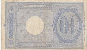 Italy, 10 Lire, 1888-1925, VF (+), p20