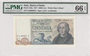 Italy, 5.000 Lire, 1971, UNC, p102a