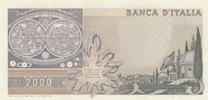 Italy, 2000 Lire, 1973, UNC, p103a