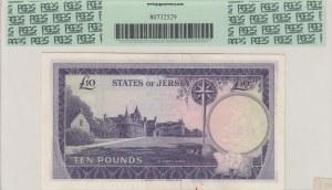 Jersey, 10 Pounds, 1972, AUNC, p10a