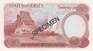 Jersey, 20 Pounds, 1978, UNC, p14s, SPECİMEN