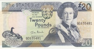 Jersey, 20 Pounds, 2000, UNC, p29