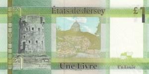 Jersey, 1 Pound, 2010, UNC, p32