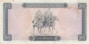 Libya, 10 Dinars, 1972, XF, p37