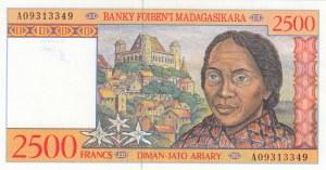 Madagascar, 2500 Francs, 1998, UNC, p81