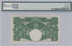 Malaya, 5 Dollars, 1941, UNC,  p12