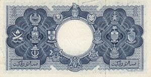 Malaya And British Borneo, 1 Dollar, 1953, AUNC, p1